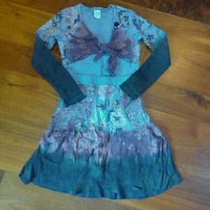 Fun, colorful boutique shirt & skirt